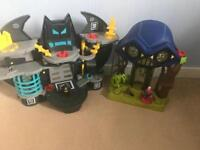 Imaginext play sets x2