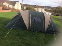 Gd condition tent ground sheets and 2 bedroom inner lining