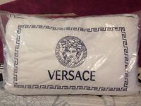 Versace Pillow White / Black