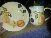 small jug & bowl