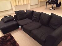 Black Sofa- Very good condition