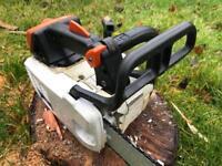 "Stihl MS200T Petrol chainsaw - new 14"" bar & chain - serviced"
