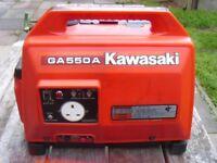KAWASAKI GA 550 PETROL GENERATOR
