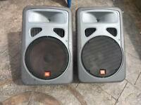 """JBL. EON. 15"""" active speakers"""