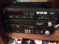 Technics hi-fi separates amp tuner cassette