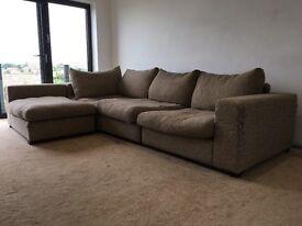 Free 4 seater corner sofa
