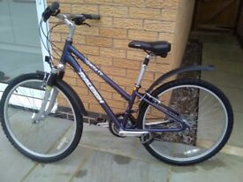 Bicycle for sale, good working order. Hardly used. Frame size 14 -21 inch
