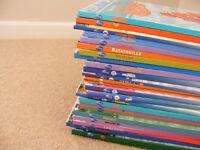 Disney set of comic books of films