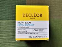 Decleor Neroli Bigarade Hydrating Night Balm 15ml new