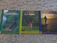 Set of 3 Fishing Guide Books (Coarse, Fly and Sea Fishing)