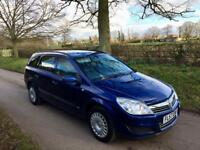 Blue Vauxhall Astra Estate 2008, Automatic 1.8 i 16v Life 5dr 85200 miles on the clock, drives well
