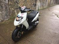 FULLY WORKING 2013 Piaggio Typhoon 50cc 70cc learner Scooter 70 cc reg as 50 malossi mot