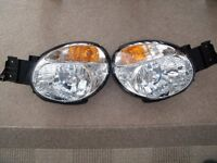 Pair of Subaru headlamps