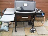 Weber Genesis Silver Barbecue (BBQ) With Trolley