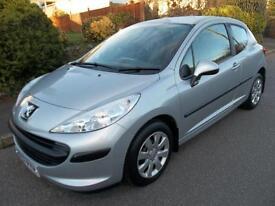 Peugeot 207 1.4 16V S 3dr (silver) 2007
