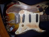 Custom built stratocaster - one of a kind