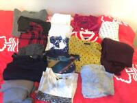 Bundle of women's clothes / tops size 10 - 12. Mostly M&S clothes. Good quality. Bargain.