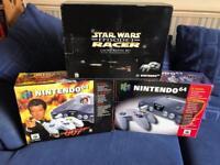 N64 Nintendo 64 Boxed consoles