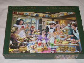1000 piece jigsaw titled the cake shop
