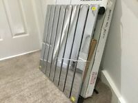 Brand new Chrome Radiator 600 x 604mm