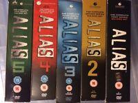 Alias 1-5 complete box set