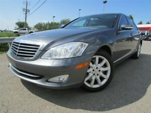 2007 Mercedes-Benz S-Class AWD NAVI BLUETOOTH TOIT OUVRANT MAGS!
