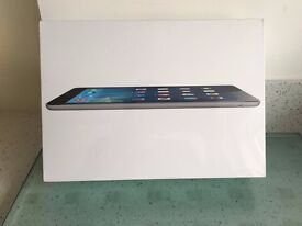 New, I Pad Air Wi-fi 16 GB Space Gray boxed unopened