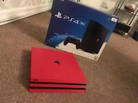 Ps4 Pro *Carbon Red*