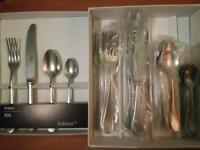 Habitat 24 piece cutlery set in Pewter. BRAND NEW