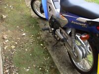 For sale owner honda 125 with only 2644 mils in the clock
