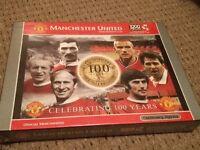 Manchester United 'Celebrating 100 years' 1000 jigsaw