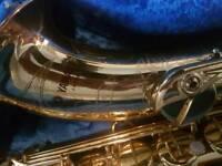 Yamaha 62 pupple logo tenor sax