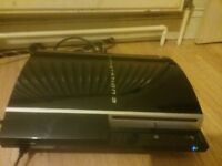 selling playstation 3 with power lead and hdmi lead and controller lead but no controler