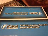 **BRAND NEW** Funai VCR-DVD Harddisc Recorder