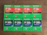Fujifilm FP-100C & FP3000B Polaroid professional film