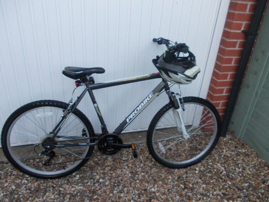 mans mountain bike as new