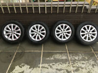 "VW alloys 15"" 195/65 R15 with 3 good tyres"
