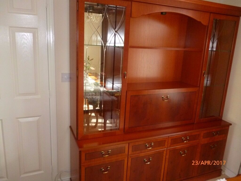 Morris Of Glasgow Dining Room Display Cabinet