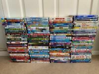 Kids DVD - over 100. Ideal for lockdown. DVDs Joblot Bulk Carboot reseller ebayer bundle