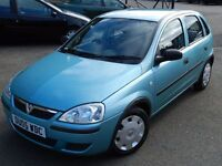 (2005) VAUXHALL CORSA LIFE 1.2 5DR - FULL SERVICE HISTORY - 10 MONTHS MOT - EXCELLENT CONDITION