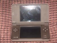 NINTENDO DSI XL CONSOLE AND 2 GAMES