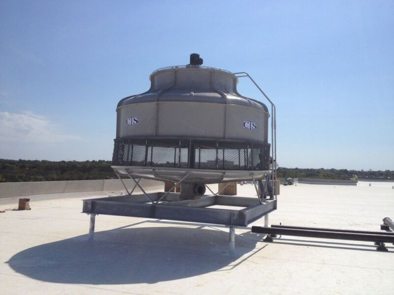Cooling Tower T-2350  350 Nominal Tons based on design of 95/85/75 @ 1,036 GPM