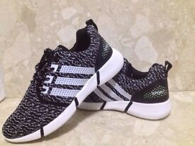 Mens Running Trainers Gym Walking Shock Absorbing Sports Fitness Shoes Size uk 8.5