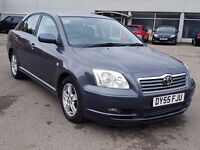 TOYOTA AVENSIS DIESEL,IMMACULATE CONDITION,9 STAMPS,HPI CLEAR,CAMBELT CHANGED,2295 ONO