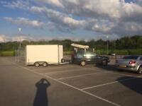 Box trailer removals sofa IKEA motorbike boat bed bike removal caravan hire