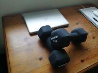 Dumbbells 7kg (x2)