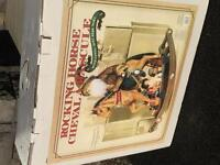 NEW IN BOX. Rocking Horse with Santa.