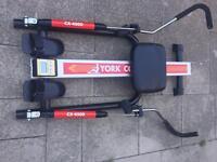 York concorde rowing machine with digital display