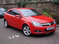 EXCELLENT LOOKS!!! RED 2006 VAUXHALL ASTRA 1.6 i 16v SXI SPORT 3dr, 1 YEAR MOT, WARRANTY