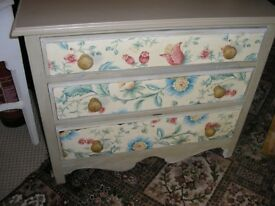 3 DRAW CHEST REFURBISHED BY OWNER